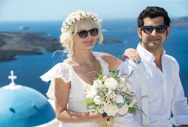 Profitis Elias Chapel- Santorini wedding venue