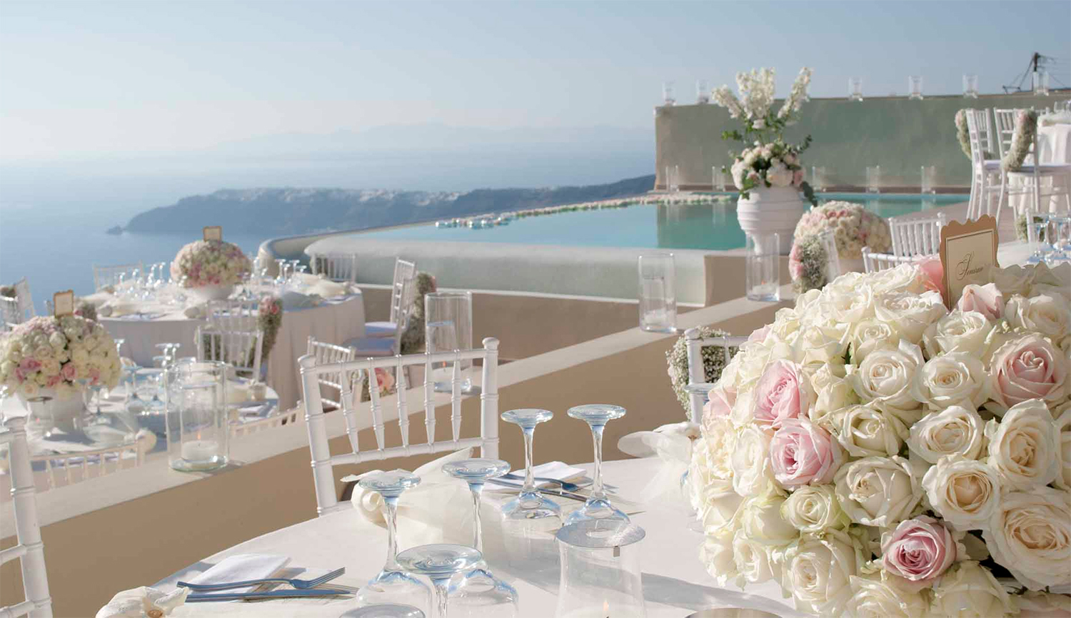 La Maltese Estate Santorini Weddings